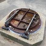 Manhole Covers/Catch Basin Concerns at 9647 88 Avenue NW