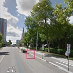 Obstruction - Public Road/Walkway at 12116 102 Avenue NW