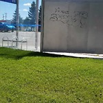 Transit - Graffiti/Vandalism at 100 Mayfield Common NW