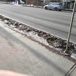 Street Sweeping at 9035 99 Street NW
